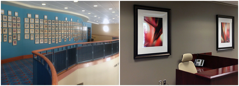 custom picture frames for corporations
