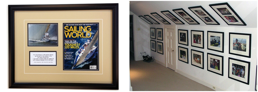 residential custom picture framing